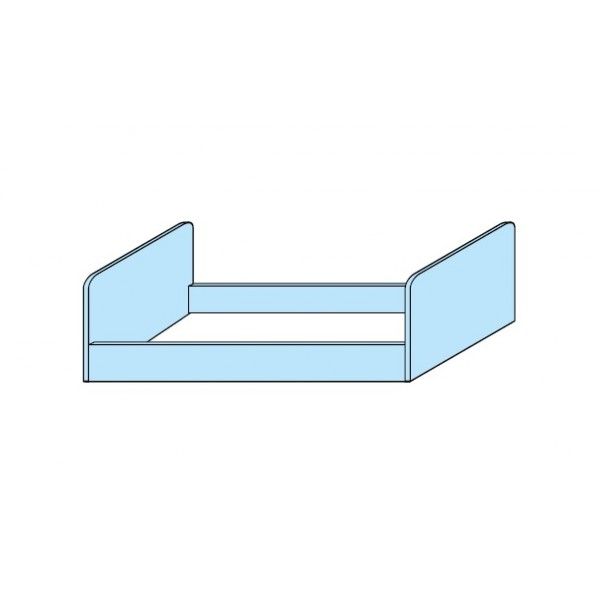 Dječji krevet na kat TITANO - krevet V4866Q