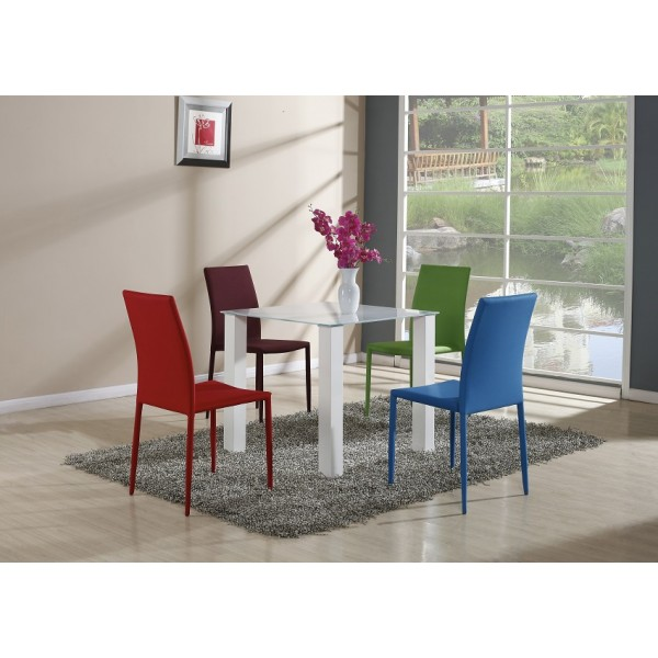 Stakleni stol Boom - 80 x 80 cm