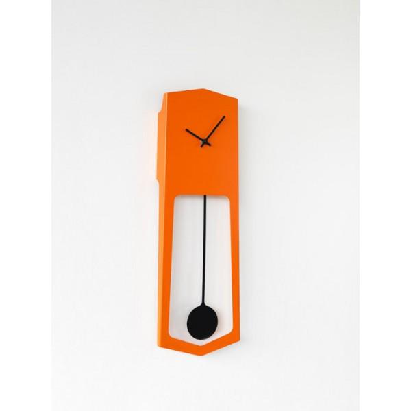Zidni sat Aika - narančasta