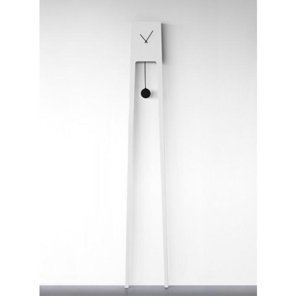 Zidni sat Tiuku - bijela