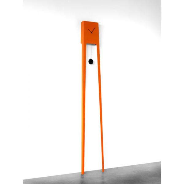 Zidni sat Tiuku - narančasta