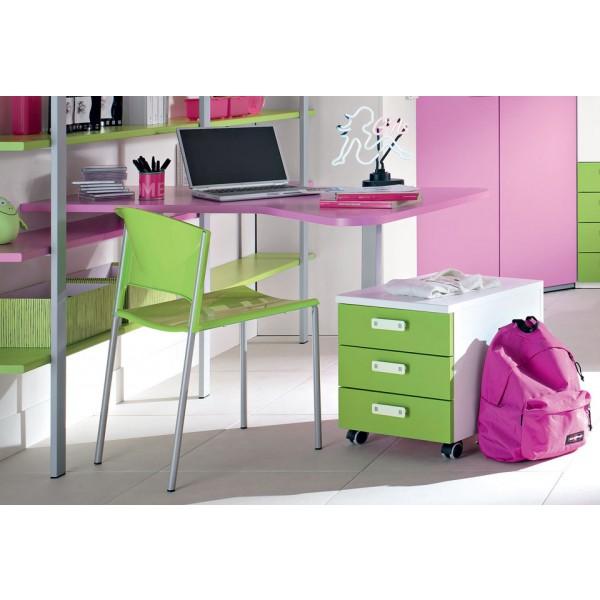 Radni stol Dardo, Stolica Alfa i ladice