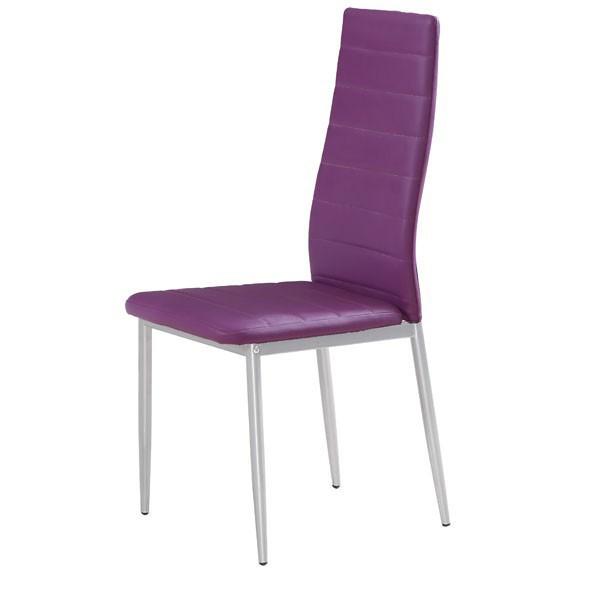 Stol za jedilnico Jealousy: vijolična