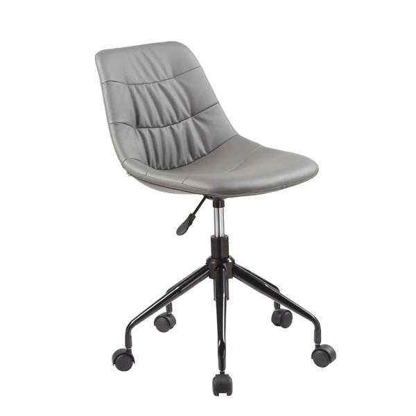 Uredska stolica Pikolo: siva