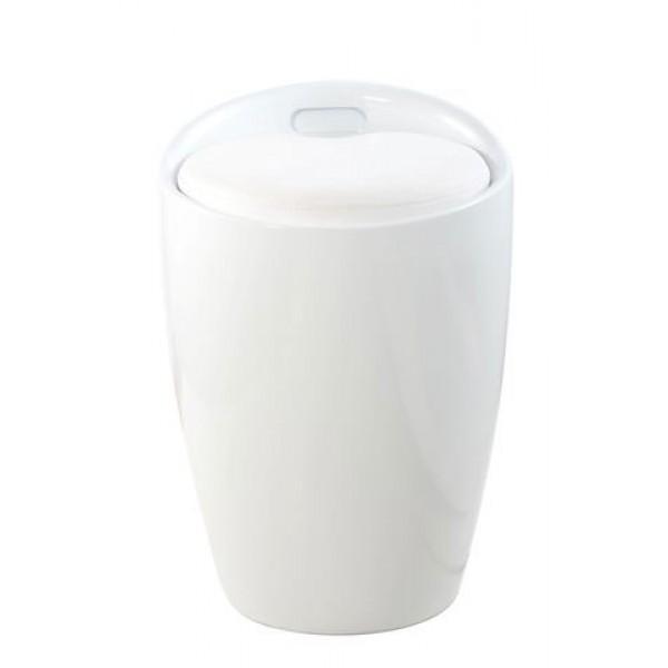 Stolac sa sandukom Skittle: bijela