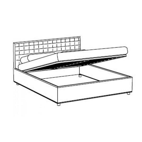 Krevet Queen: sanduk za posteljinu