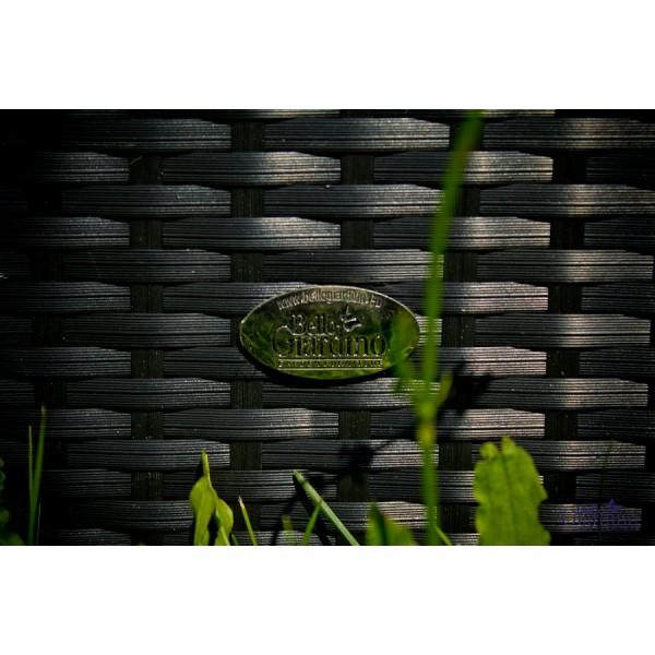 Vrtni namještaj Comodo - crna boja