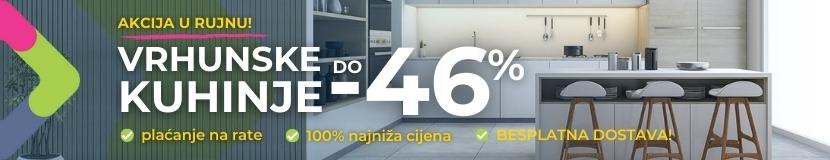 Kuhinje do -46% jeftinije