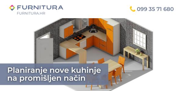 Planiranje nove kuhinje na promišljen način